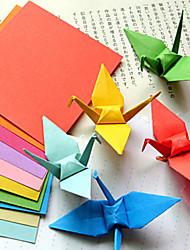 Papercranes bricolage origami de développement de l'intelligence (100 pages)