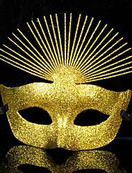 preiswerte -Karnival Maske Unisex Halloween Karneval Silvester Fest / Feiertage Halloween Kostüme Solide