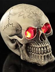 Недорогие -трюк светодиоды световой печати глаза смолы черепа для Хэллоуина (1 шт)