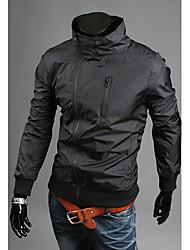 Недорогие -charels мужская мода все соответствием тонкий пальто куртки