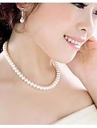 preiswerte -Women's Imitation Pearl Necklace