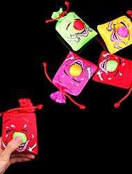 Недорогие -Нажмите и смех улыбающееся лицо Большой Нос сумка стресс-ослабитель Розыгрыш (случайный цвет, 10x10x4cm, 1шт)