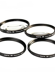 52mm 4pcs close-up kit de filtre avec le sac de filtre (1, 2, 4, 10)