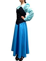 Da principessa Coda da Sirena Fiabe Costumi Cosplay Vestito da Serata Elegante Unisex Halloween Feste/vacanze Costumi Halloween Collage