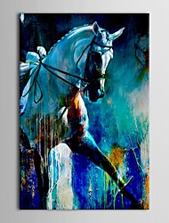 cheap -Hand-Painted Animals Vertical Canvas Oil Painting Home Decoration One Panel