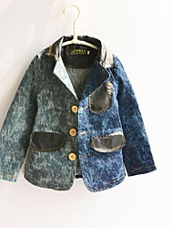 Giubbino e cappotto Maschile Con stampe Primavera / Autunno Cotone / Denim