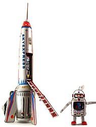 Недорогие -ИНН SkyExpress ракетные и астронавт заводные игрушки для коллекции