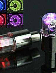 Eclairage de Vélo / bicyclette Capots de feux clignotants Cyclisme Alarme AG10 Pile bouton Lumens Batterie Cyclisme-FJQXZ