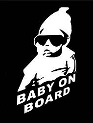 15 x 9 cm / bambino fresco a bordo adesivo auto adesivo moto