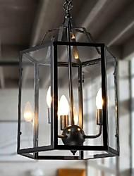 cheap -3-Light Pendant Light Ambient Light - Mini Style, 110-120V / 220-240V Bulb Not Included / 10-15㎡ / E12 / E14