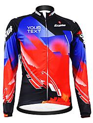 baratos -Kooplus Jaqueta para Ciclismo Mulheres Homens Unissexo Manga Comprida Moto Camisa/Roupas Para EsporteTérmico/Quente A Prova de Vento