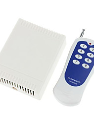 baratos -12V de 8 canais sem fio Módulo de Relé de potência remoto com controle remoto (DC28V-AC250V)
