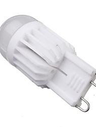 cheap -5W G9 LED Corn Lights T 2 leds COB Dimmable Warm White 400-450lm 2800-3200K AC 220-240V