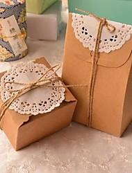 Недорогие -классический прямоугольник коричневая коробка бумаги (в том числе iemp шнур и шнурок) (1шт)