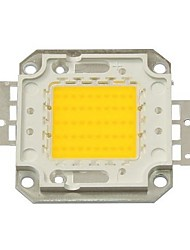 cheap -50W 4500LM 3000K Warm White LED Chip(30-35V) High Quality Lighting Accessory