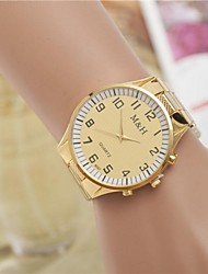 cheap -Women's Fashion Rhinestones Number Steel Belt Quartz Wrist Watch(Assorted Colors) Cool Watches Unique Watches