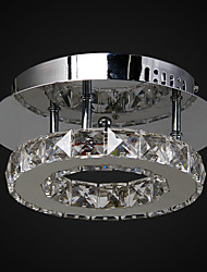 cheap -Flush Mount ,  Modern/Contemporary Chrome Feature for Crystal LED Metal Living Room Bedroom Entry Outdoors