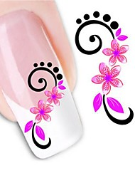 Water Transfer Printing Nail Stickers XF1446