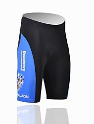 billige -ILPALADINO Herre Cykelshorts med indlæg Cykel Shorts / Forede shorts / Underdele Ultraviolet Resistent, Åndbart Patchwork Polyester, Lycra