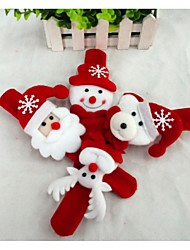 cheap -Christmas Gifts Christmas Toys Slap Armband Toys Snowman Cute Santa Claus Kid's Kids' Kids 1 Pieces