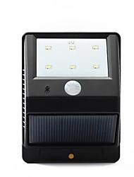 cheap -6-LED PIR Solar Power Motion Sensor Wall Garden Street Lamp