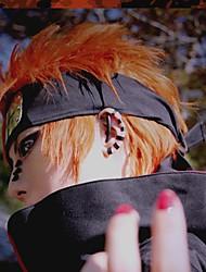 Недорогие -Косплэй парики Наруто Косплей Оранжевый Аниме Косплэй парики 14 дюймовый Термостойкое волокно Муж. Хэллоуин парики