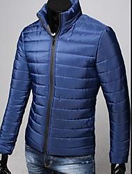 baratos -estande engrossado casaco fino dos homens