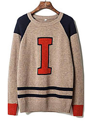 economico -Men's New - hit color sweater Korean cultivating sweater