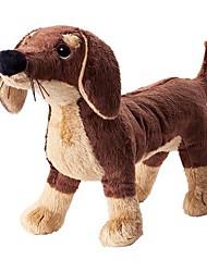 economico -20inch cane marrone peluche peluche giocattolo