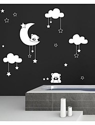 Animals Cartoon Florals Shapes Abstract Fantasy Wall Stickers Plane Wall Stickers Decorative Wall Stickers,Vinyl Home Decoration Wall
