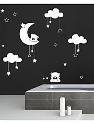 Animaux Bande dessinée Floral Forme Abstrait Fantaisie Stickers muraux Autocollants avion Autocollants muraux décoratifs,Vinyle
