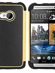Per Custodia HTC Resistente agli urti Custodia Custodia posteriore Custodia Armaturato Resistente PC HTC HTC One M8 / HTC One M7