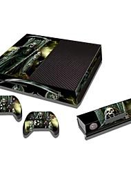 baratos -b-Skin® xbox um console adesivo de pele controlador de pele da tampa da etiqueta protetora