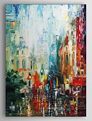 cheap -Hand-Painted Abstract One Panel Canvas Oil Painting For Home Decoration