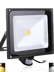 3000 lm Focos de LED 1 leds LED de Alta Potência Sensor Branco Quente Branco Frio AC 85-265V