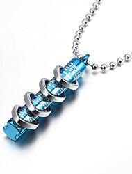 религиозные библейские четыре кольца на трубке цинковый сплав мужского кулон ожерелье