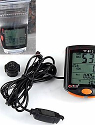 WEST BIKING® Bike Computer,Cycling Accessories LED Display  Waterproof Stopwatch 24 Functions Bike Computer Odometer Speedometer