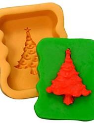 natal ferramentas árvore fondant bolo de chocolate bolo de silicone molde de decoração