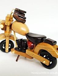 Недорогие -деревянные мотоцикл ремесленные статьи обеспечения (цвет изображения)