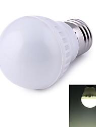 preiswerte -500 lm E26/E27 LED Kugelbirnen 9 Leds SMD 2835 Dekorativ Natürliches Weiß Wechselstrom 220-240V