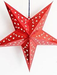 Недорогие -трехмерное лазерное бумага Рождественская звезда