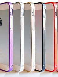 Ultra Thin 07mm Metal Aluminium Frame Bumper for iPhone 5/5S