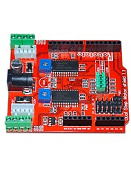 cheap -Itead Two Channels Stepper Motor Drive Shield Expansion Board for Arduino - Red