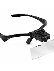 cheap -Magnifiers/Magnifier Glasses Headset/Eyewear 3 Plastic