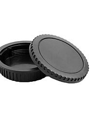 pajiatu® copriobiettivo posteriore + tappo corpo della fotocamera per Canon Canon EOS, come 5d2 550d 600d 60d 5D3 5diii 1100D ecc