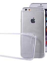 economico -Custodia Per Apple iPhone 6 iPhone 6 Plus Ultra sottile Transparente Per retro Tinta unica Morbido TPU per iPhone 6s Plus iPhone 6s