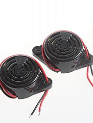 cheap -high-decibel alarm SFM-27 DC3-24V Continuous buzzer speaker voice ringers(2pcs)