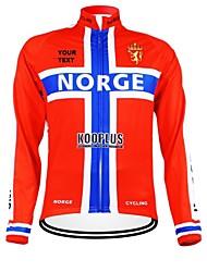 Kooplus Camisa para Ciclismo Homens Mulheres Unisexo Manga Longa Moto Camisa/Roupas Para Esporte Blusas Zíper á Prova-de-Água Vestível