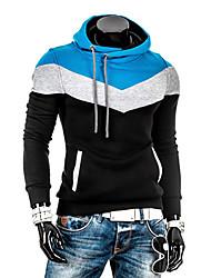 hoodie incantesimo modo di colore maschile lesen sottile Fleece Hoodie manicotto lungo casuale o