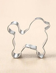 cheap -Poodle Pet Dog Cookie Cutter Metal Animal Biscuit Bread Mold Stainless Steel DIY Baking Tools